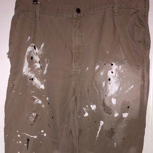 Carhartt distressed pants. Men's 40x32.